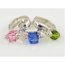 Interchangeable Bead Ring (with one 8mm round crystal or stone)