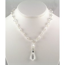 Dazzling Swarovski Crystal Drop Necklace